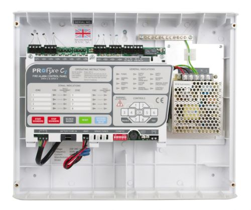 small resolution of  in8 zeta infinity 8 zone conventional fire alarm panel